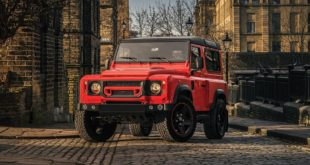 Land Rover Defender Final Edition Lava Orange Kahn Design 4 310x165 Land Rover Defender Final Edition in Lava Orange by Kahn