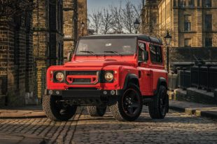 Land Rover Defender Final Edition Lava Orange Kahn Design 4 310x205 Land Rover Defender Final Edition in Lava Orange by Kahn