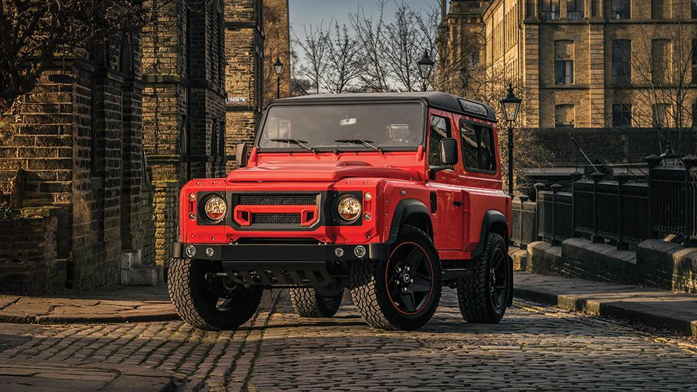 Land Rover Defender Final Edition Lava Orange Kahn Design 4 Land Rover Defender Final Edition in Lava Orange by Kahn