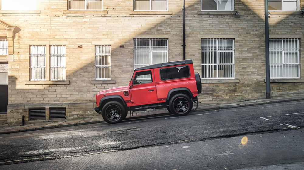 Land Rover Defender Final Edition Lava Orange Kahn Design 5 Land Rover Defender Final Edition in Lava Orange by Kahn