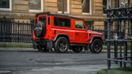 Land Rover Defender Final Edition Lava Orange Kahn Design 6 190x107 Land Rover Defender Final Edition in Lava Orange by Kahn