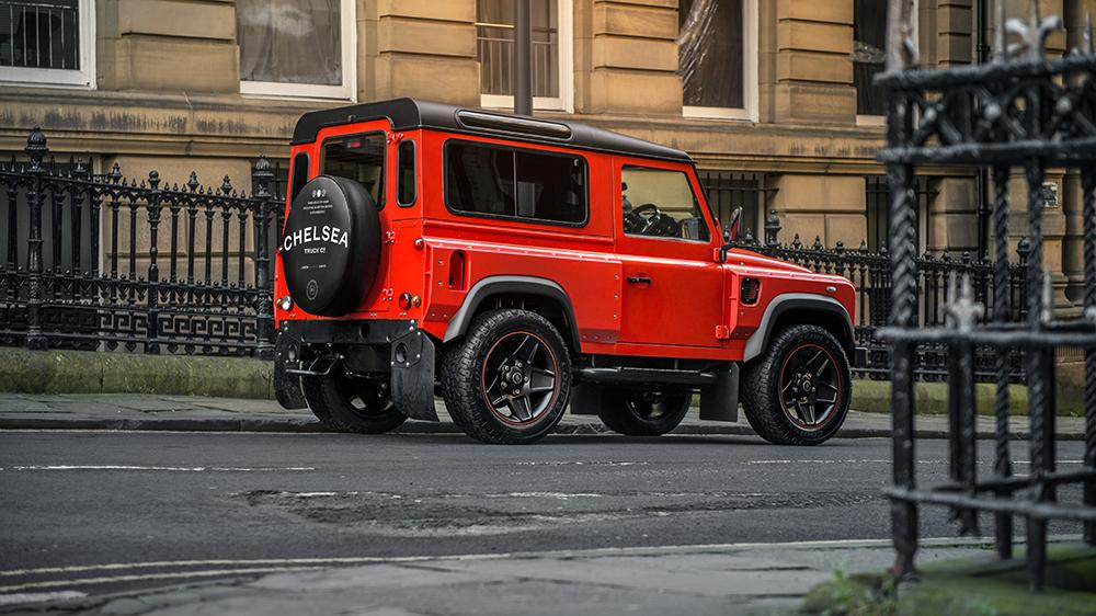 Land Rover Defender Final Edition Lava Orange Kahn Design 6 Land Rover Defender Final Edition in Lava Orange by Kahn