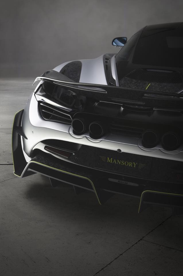 MANSORY McLaren 720S First Edition Tuning 2018 4 Dezenter Supersportler   McLaren 720S Mansory First Edition