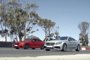 Mercedes C63s AMG C205 vs. BMW M4 Competition Pack 310x205 Video: Mercedes C63s AMG (C205) vs. BMW M4 Competition Pack