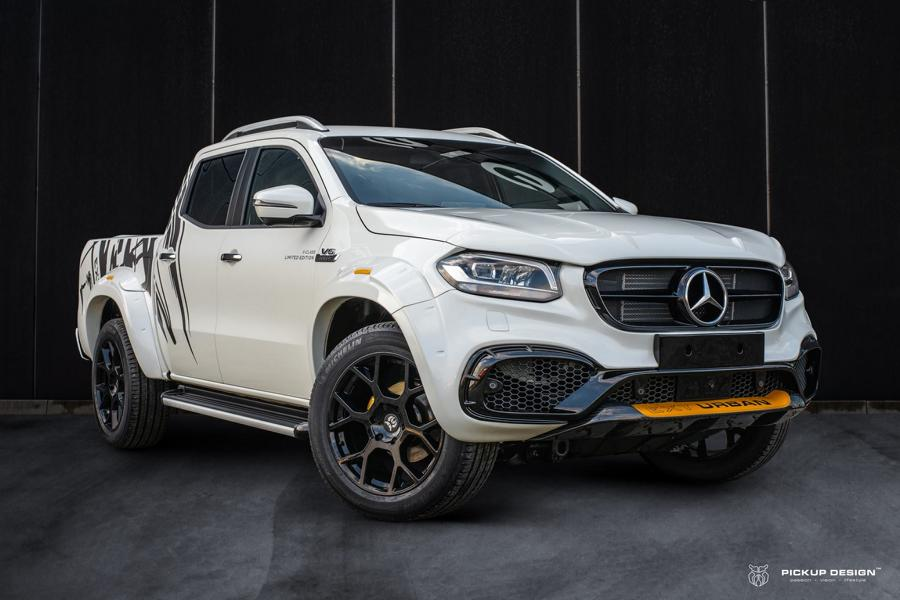 Mercedes EXY URBAN W470 Tuning Widebody 1 Mercedes X Klasse Exy Urban   Widebody Kit by Pickup Design