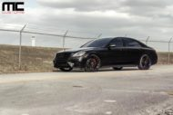 Mercedes S Klasse W222 Tuning S550 1 190x127 Alles in schwarz   Mercedes S Klasse vom Tuner MC Customs