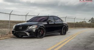 Mercedes S Klasse W222 Tuning S550 10 310x165 Alles in schwarz   Mercedes S Klasse vom Tuner MC Customs