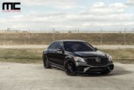 Mercedes S Klasse W222 Tuning S550 11 190x127 Alles in schwarz   Mercedes S Klasse vom Tuner MC Customs