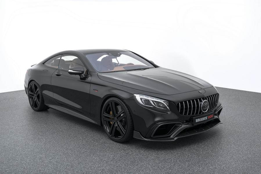Mercedes S63 AMG 4MATIC BRABUS 800 Coup%C3%A9 Tuning C217 13 Mercedes S63 AMG 4MATIC+ (C217) als BRABUS 800 Coupé