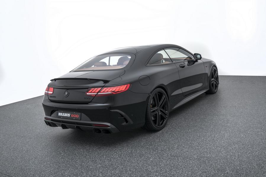 Mercedes S63 AMG 4MATIC BRABUS 800 Coup%C3%A9 Tuning C217 15 Mercedes S63 AMG 4MATIC+ (C217) als BRABUS 800 Coupé