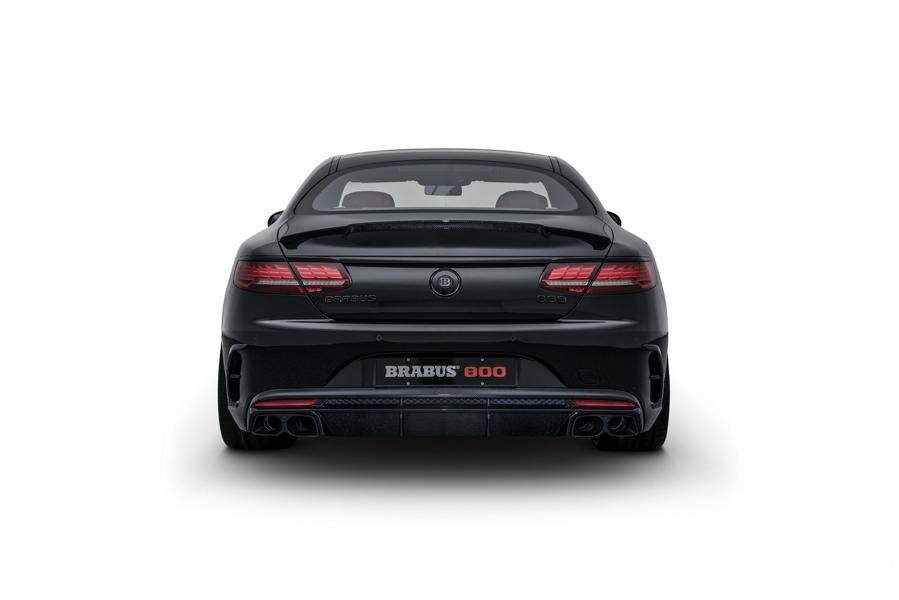 Mercedes S63 AMG 4MATIC BRABUS 800 Coup%C3%A9 Tuning C217 16 Mercedes S63 AMG 4MATIC+ (C217) als BRABUS 800 Coupé
