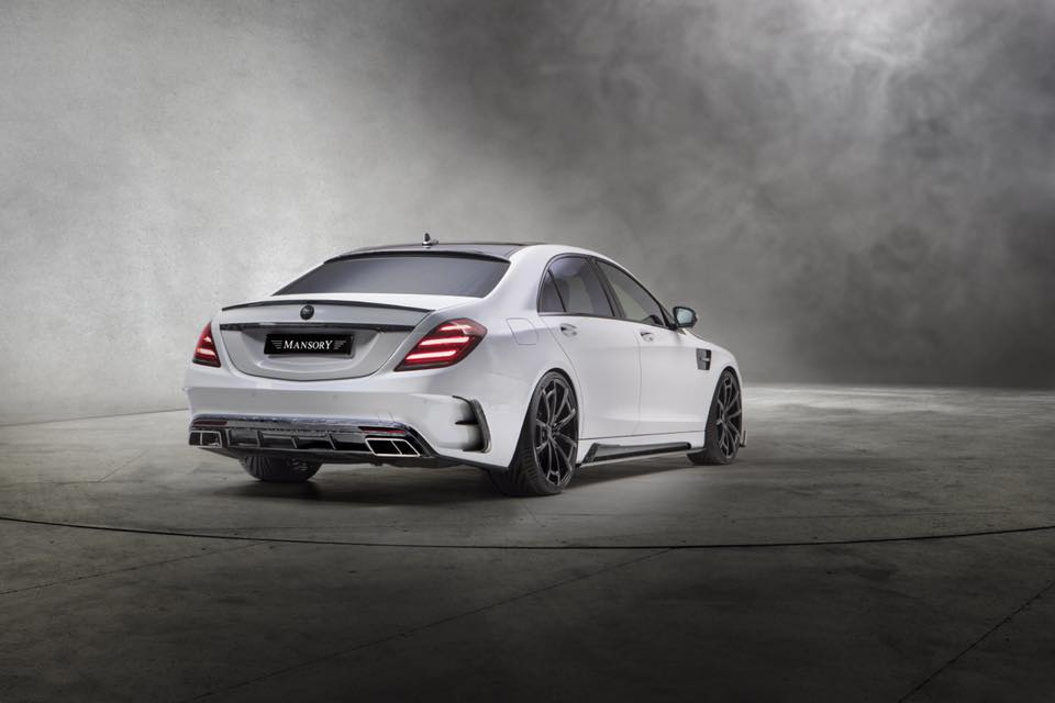 Mercedes S63 AMG W222 Mansory Signature Edition 2018 Tuning 2 Heftiges Teil   Mercedes S63 AMG Mansory Signature Edition
