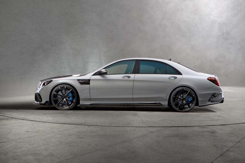 Mercedes S63 AMG W222 Mansory Signature Edition 2018 Tuning 3 Heftiges Teil   Mercedes S63 AMG Mansory Signature Edition
