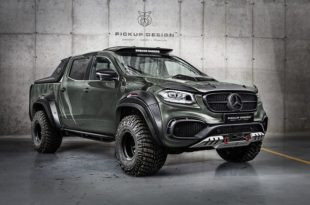 Mercedes X Klasse Exy OFF ROAD W470 Tuning 8 310x205 Limitiertes Monster   Mercedes X Klasse Exy OFF ROAD