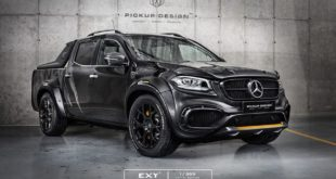 Mercedes X Klasse Exy Urban Widebody Kit Pickup Design Carlex 1 310x165 Nissan Navara Navy Limited Edition   by Carlex Design