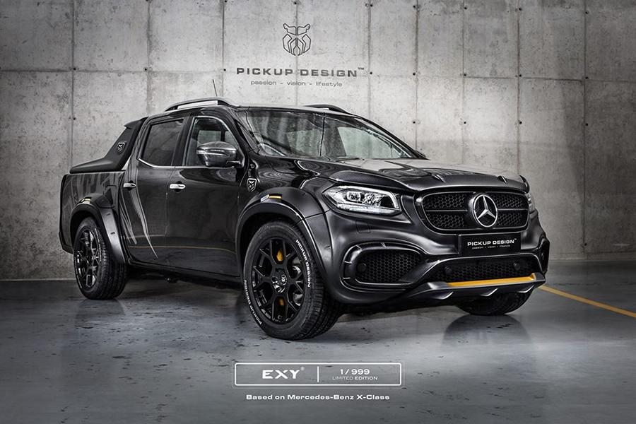 mercedes x class exy urban widebody kit by pickup design magazine. Black Bedroom Furniture Sets. Home Design Ideas