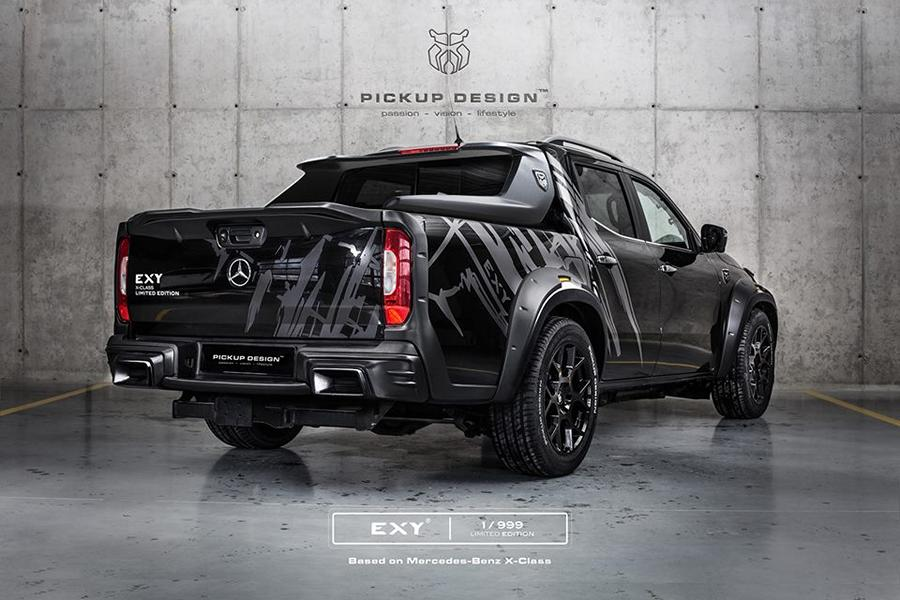 Mercedes X Klasse Exy Urban Widebody Kit Pickup Design Carlex 2 Mercedes X Klasse Exy Urban   Widebody Kit by Pickup Design