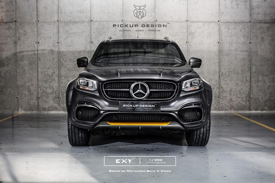 Mercedes X Klasse Exy Urban Widebody Kit Pickup Design Carlex 3 Mercedes X Klasse Exy Urban   Widebody Kit by Pickup Design