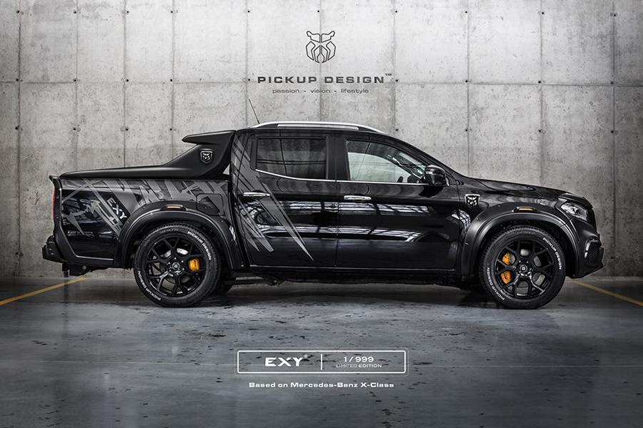 Mercedes X Klasse Exy Urban Widebody Kit Pickup Design Carlex 5 Mercedes X Klasse Exy Urban   Widebody Kit by Pickup Design