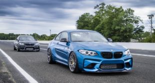 Mode Carbon BMW M2 F87 Tuning Bodykit 8 310x165 BMW M2 (F87) in Long Beach Blue auf Forgestar S18 Felgen