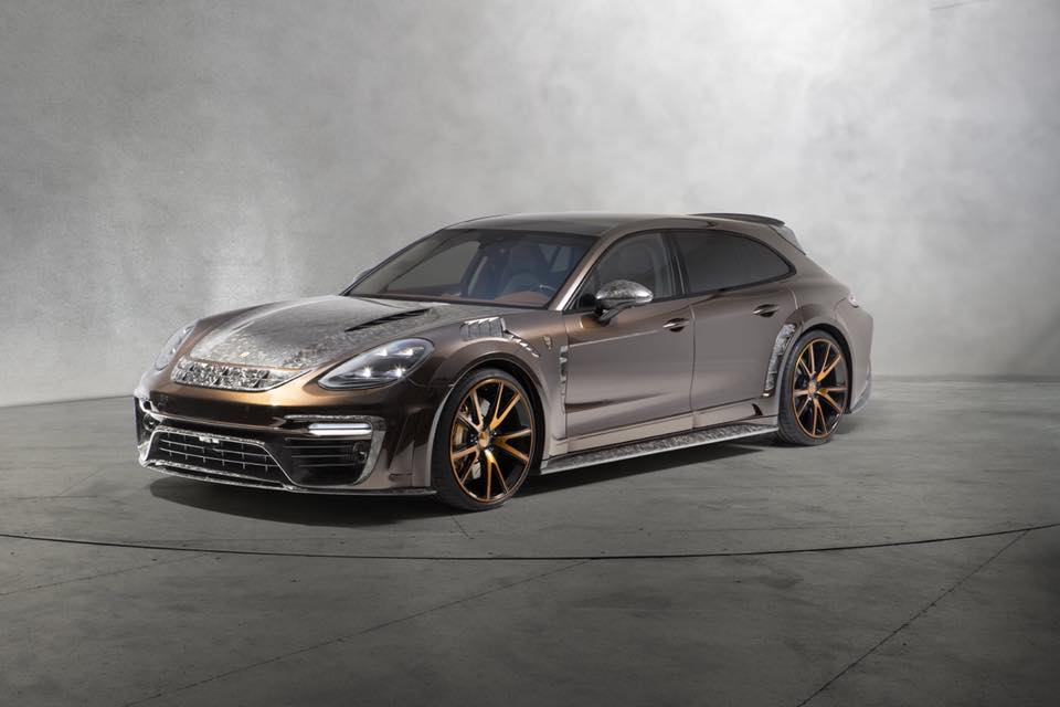 Porsche Panamera Sport Turismo Mansory Tuning 2018 1 Obvious By