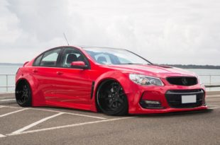 Tech9AutoArmour Holden VF Commodore Widebody Kit Tuning 4 310x205 Fetter Exot   Holden VF Commodore mit Widebody Kit