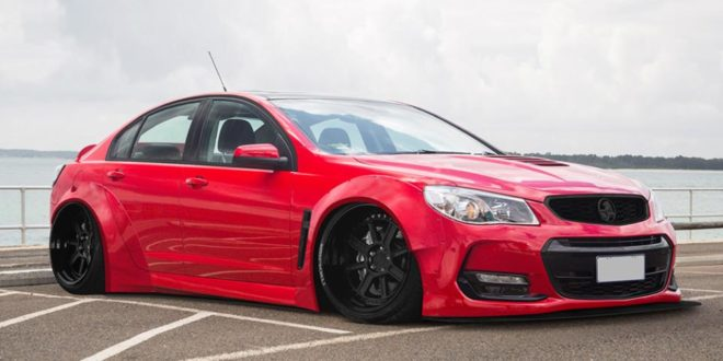 Fetter Exot Holden Vf Commodore Mit Widebody Kit