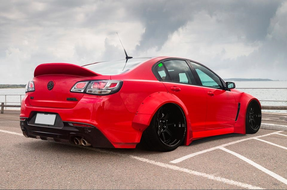 Tech9AutoArmour Holden VF Commodore Widebody Kit Tuning 5 Fetter Exot   Holden VF Commodore mit Widebody Kit