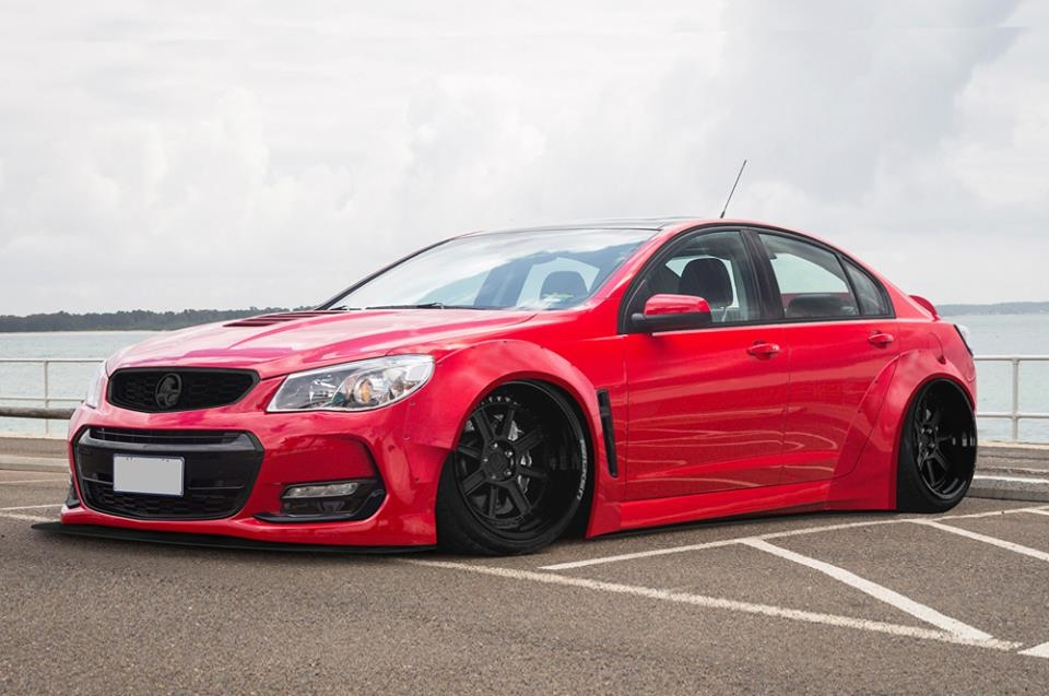 Tech9AutoArmour Holden VF Commodore Widebody Kit Tuning 6 Fetter Exot   Holden VF Commodore mit Widebody Kit