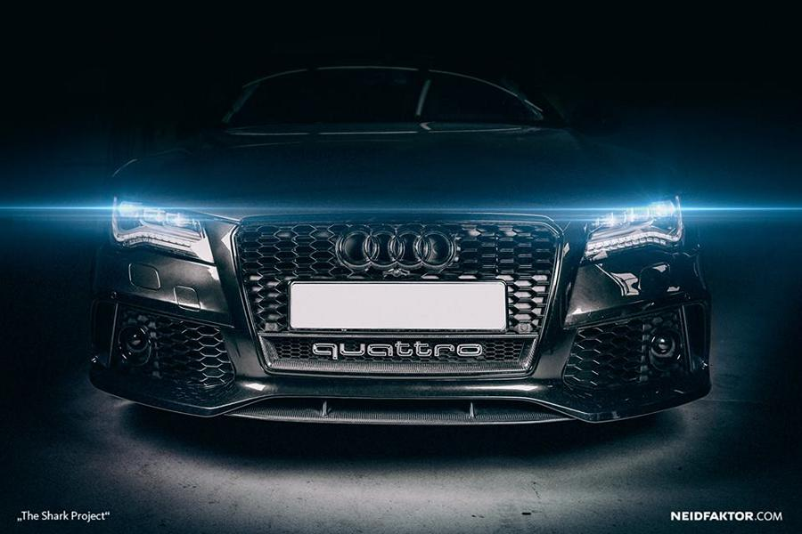 "The Shark Project Interieur Neidfaktor Audi RS7 Tuning 11 ""The Shark Project""   edles Interieur im Neidfaktor Audi RS7"