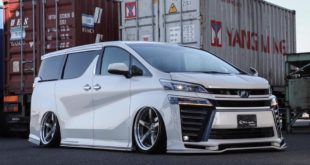 Toyota 30 Vellfire Bodykit Tuning Kuhl Racing 6 310x165 Fertig   Kuhl Racing 2019 Suzuki Swift Sport mit Bodykit