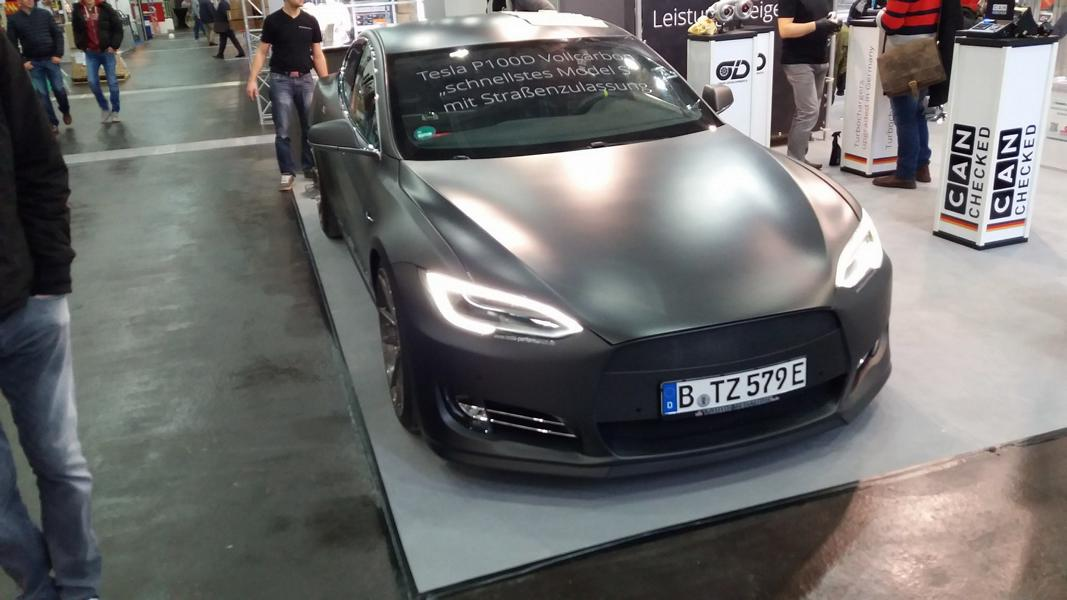 TurboZentrum Tesla Model S P100D Tuning 2018 1 Leichter Stromer   TurboZentrum Tesla Model S P100D