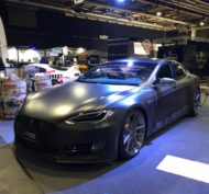 TurboZentrum Tesla Model S P100D Tuning 2018 2 190x177 Leichter Stromer   TurboZentrum Tesla Model S P100D