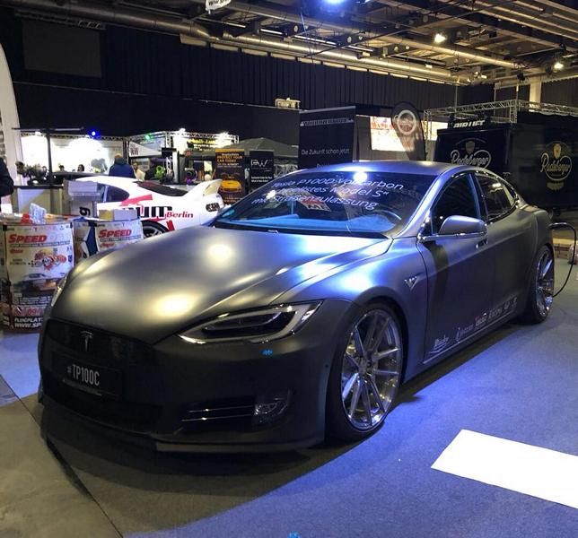 TurboZentrum Tesla Model S P100D Tuning 2018 2 Leichter Stromer   TurboZentrum Tesla Model S P100D