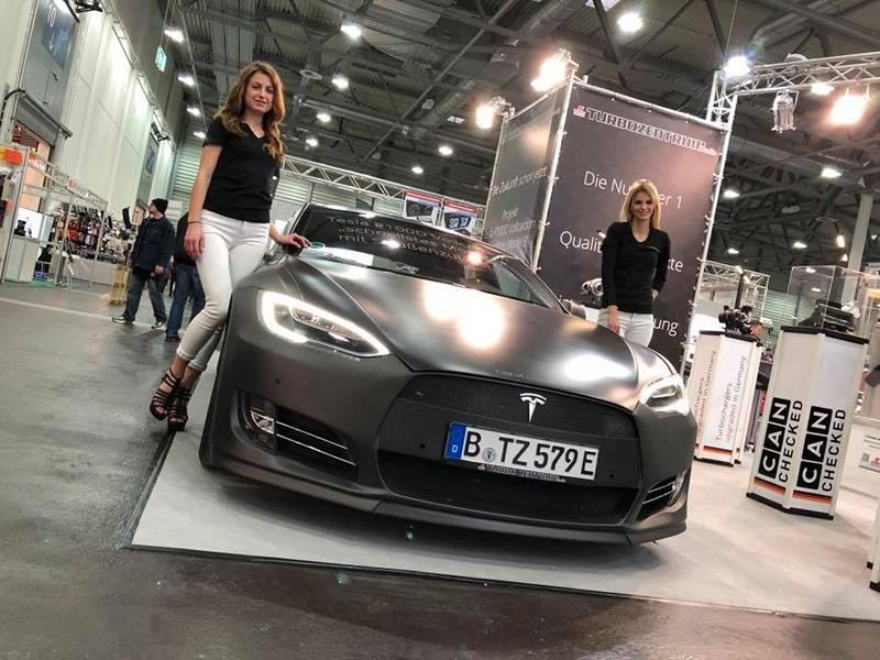 TurboZentrum Tesla Model S P100D Tuning 2018 3 Leichter Stromer   TurboZentrum Tesla Model S P100D