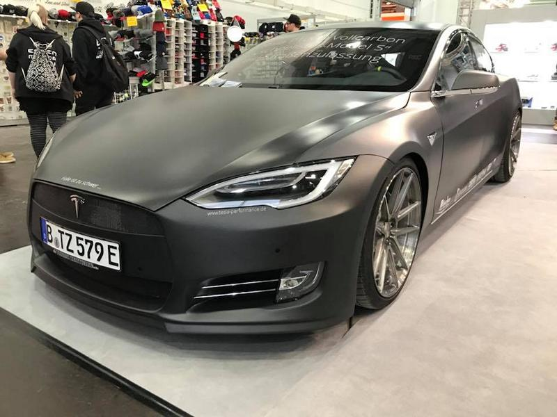 TurboZentrum Tesla Model S P100D Tuning 2018 5 Leichter Stromer   TurboZentrum Tesla Model S P100D