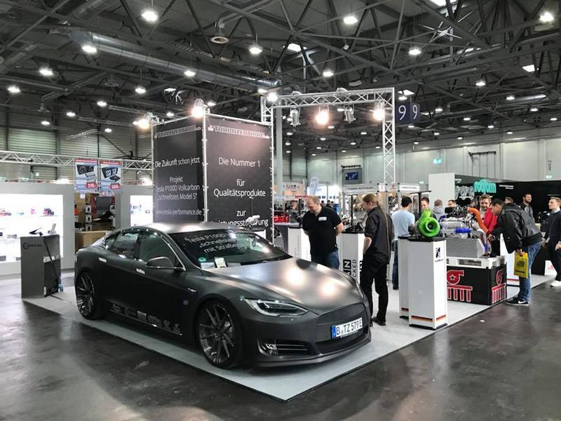 TurboZentrum Tesla Model S P100D Tuning 2018 6 Leichter Stromer   TurboZentrum Tesla Model S P100D