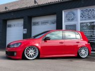 VW Golf MK6 GTI Rotiform RSE Airride Tuning 1 190x143 VW Golf MK6 GTI auf Rotiform RSE Felgen by TVW Car Design