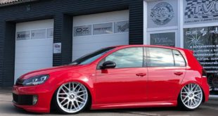 VW Golf MK6 GTI Rotiform RSE Airride Tuning 1 310x165 VW Golf MK6 GTI auf Rotiform RSE Felgen by TVW Car Design