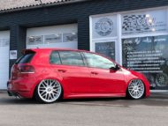 VW Golf MK6 GTI Rotiform RSE Airride Tuning 3 190x143 VW Golf MK6 GTI auf Rotiform RSE Felgen by TVW Car Design