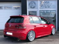 VW Golf MK6 GTI Rotiform RSE Airride Tuning 4 190x143 VW Golf MK6 GTI auf Rotiform RSE Felgen by TVW Car Design