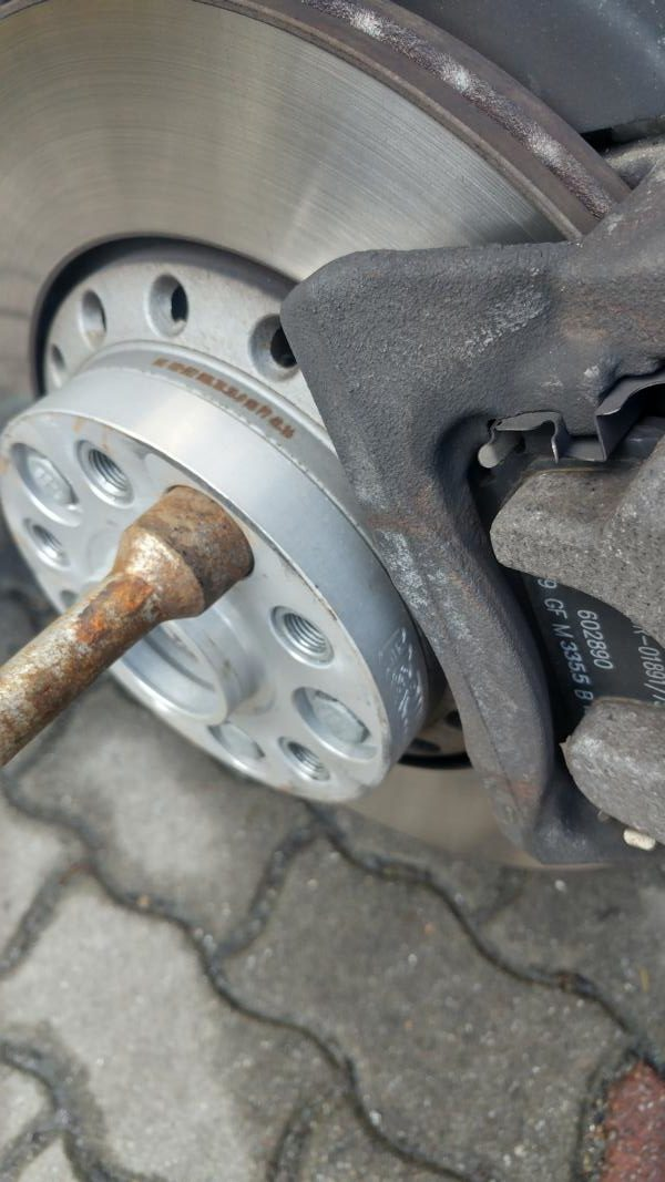 VW Phaeton 20 Zoll ICW HR Spurplatten 30mm 21 e1522326722630 Optimal   VW Phaeton auf ICW Wheels & H&R Spurverbreiterungen