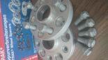 VW Phaeton 20 Zoll ICW HR Spurplatten Tuning 102 1 155x87 Optimal   VW Phaeton auf ICW Wheels & H&R Spurverbreiterungen