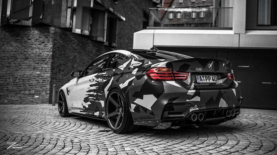 Z Performance Wheels ZP6.1 BMW M4 F82 Coupe Tuning 5 Z Performance Wheels ZP6.1 am BMW M4 F82 Coupe
