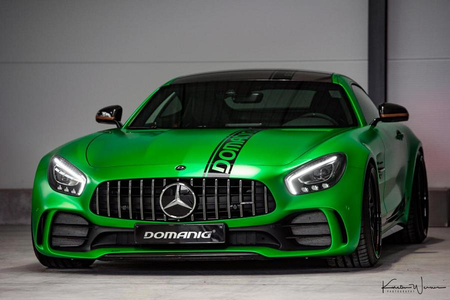 domanig mercedes amg gtr Green Magno 1 780PS / 960NM & 330KM/H   Domanig Mercedes AMG GT R