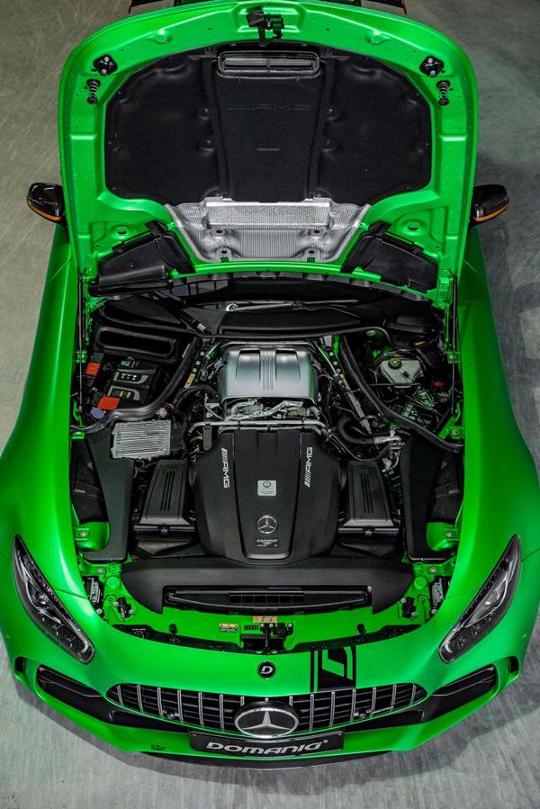 domanig mercedes amg gtr Green Magno 6 780PS / 960NM & 330KM/H   Domanig Mercedes AMG GT R