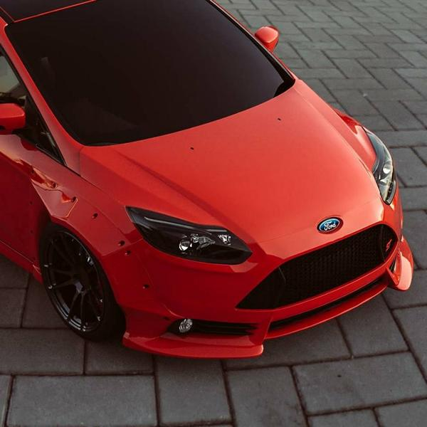 fortune flares ford focus rs widebody ST tuning 2 Mächtig   Fortune Flares Ford Focus RS & ST Widebody