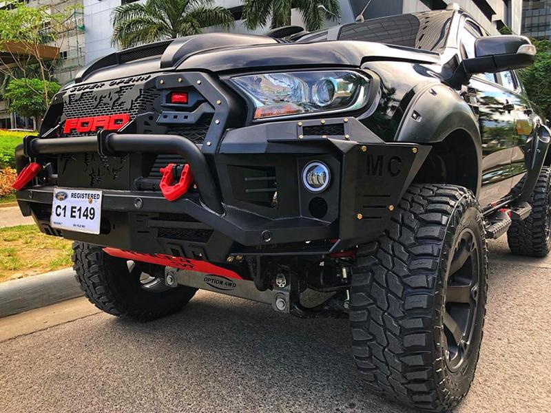 Project Conan The Barbarian 2018 Ford Ranger Wildtrak