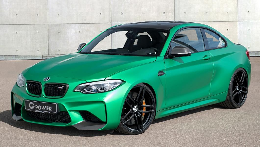 500 PS m G Power BMW M2 F87 Coupe Tuning 2 Heftiges Teil   500 PS im G Power BMW M2 F87 Coupe