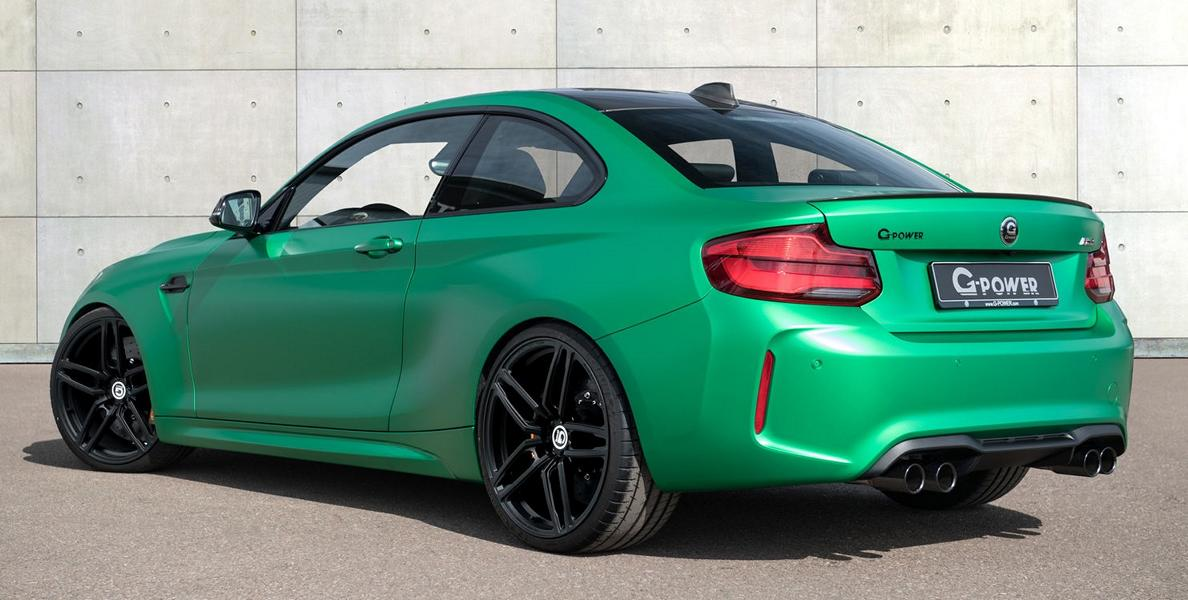 500 PS m G Power BMW M2 F87 Coupe Tuning 3 Heftiges Teil   500 PS im G Power BMW M2 F87 Coupe